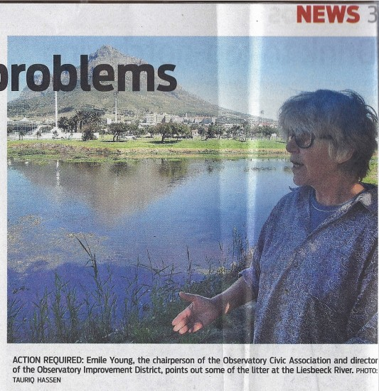 People's Post 16 April 2013 River flows with problems Photo  Page 3