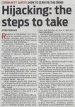 Hijacking - the steps to take (People's Post, 3 October 2013)