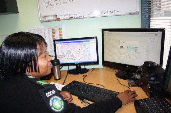 A GSCID Controller capturing incident details reported to the Control room on the new Incident Desk system