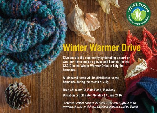 Winter warm drive